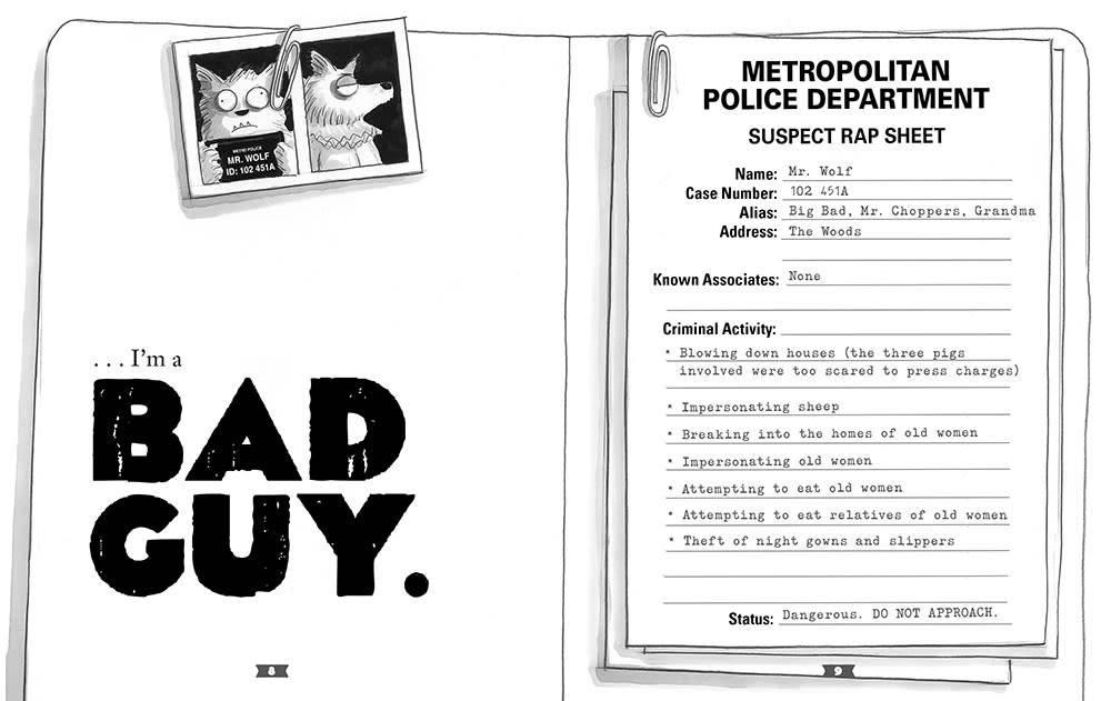 Scholastic Press The Bad Guys 01