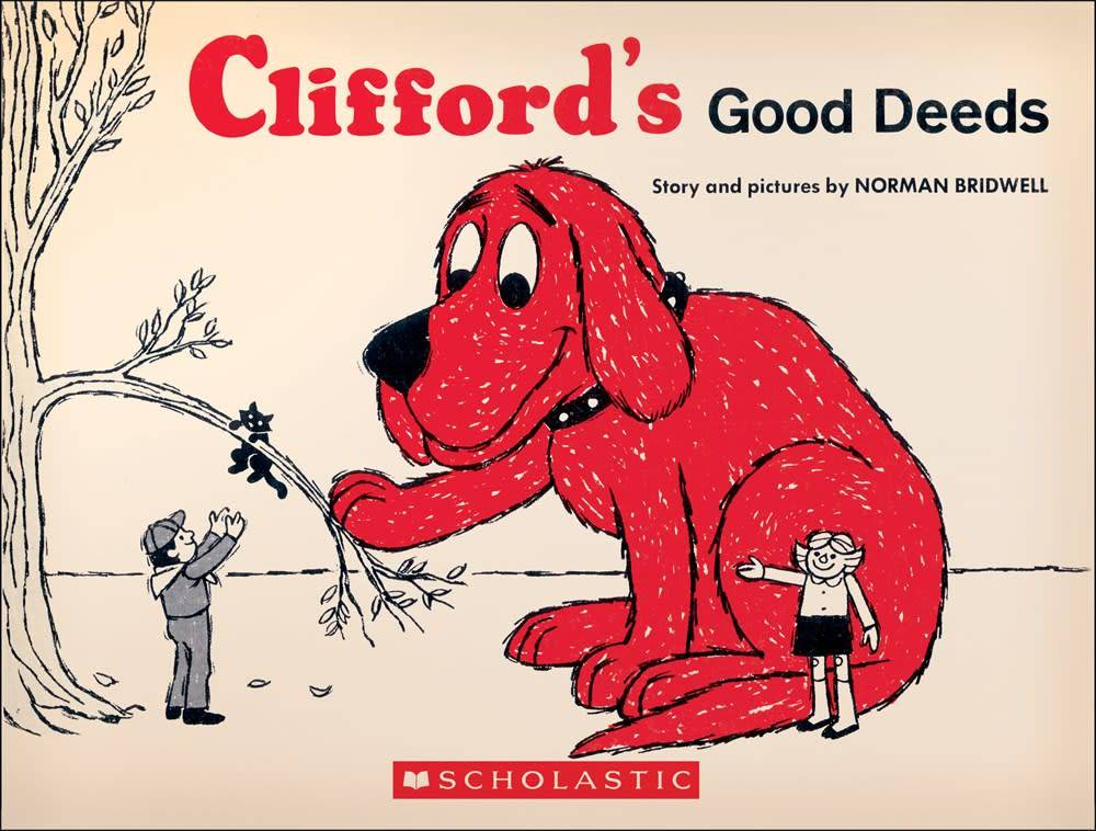 Scholastic Inc. Clifford: Clifford's Good Deeds (Vintage Hardcover Ed.)
