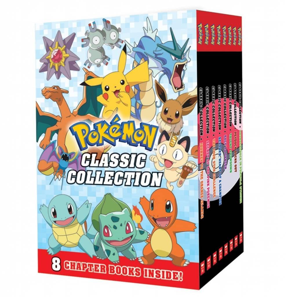 Scholastic Inc. Pokemon Classic Chapter Book Boxed Set (8 Books)