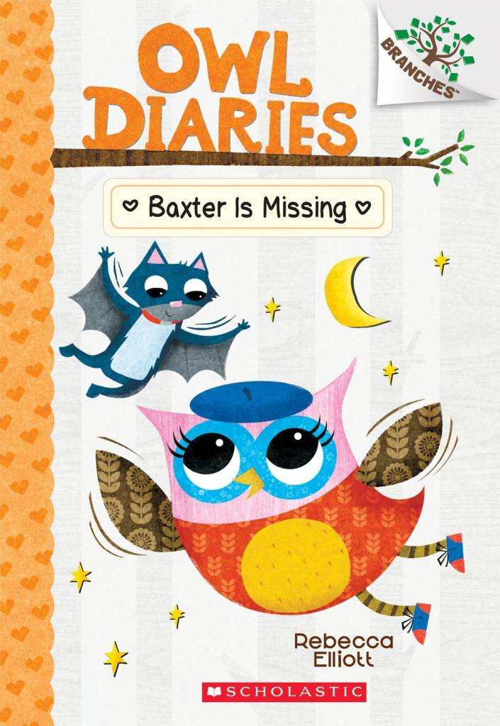Scholastic Inc. Owl Diaries 06 Baxter is Missing