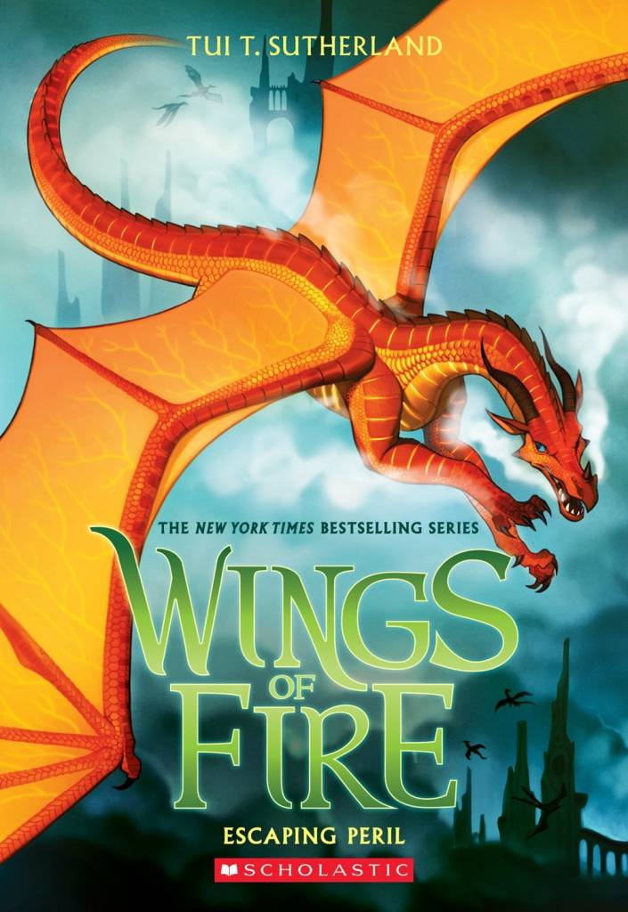 Scholastic Press Wings of Fire 08 Escaping Peril