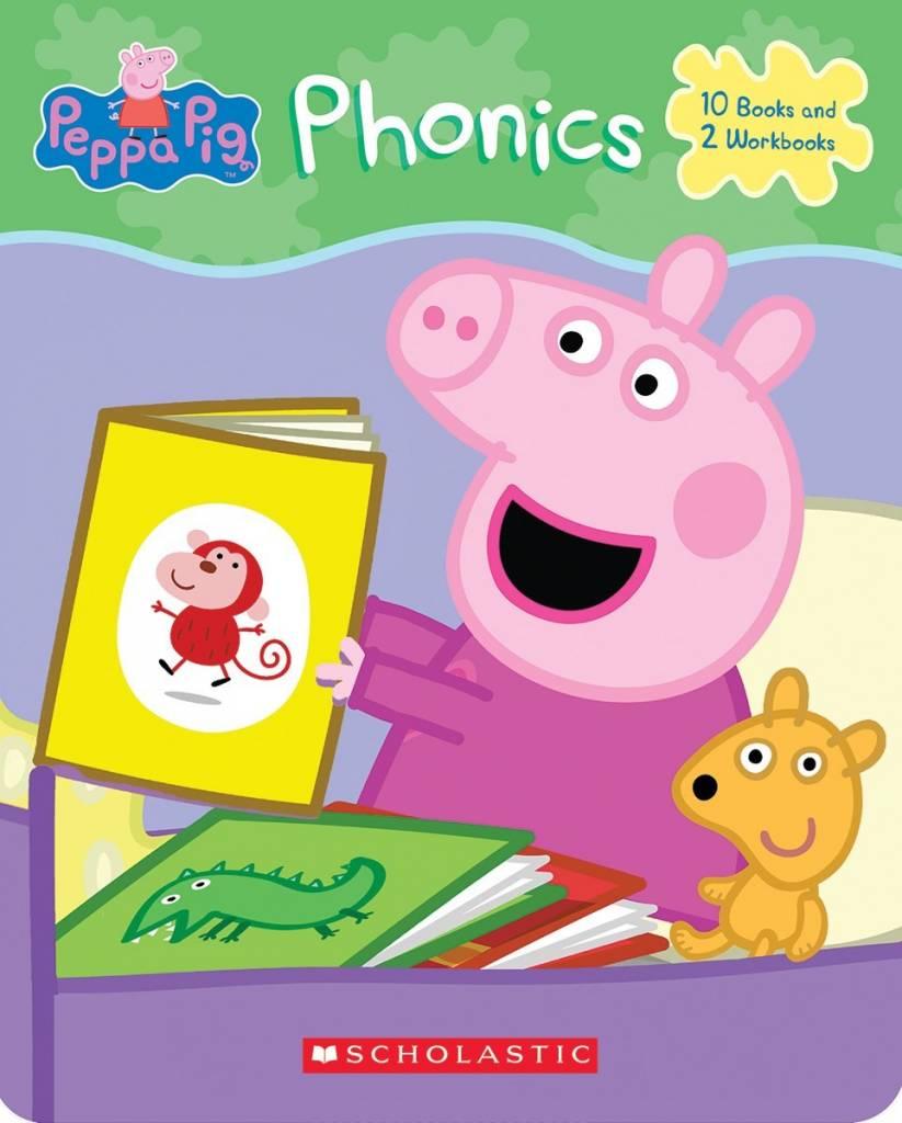 Scholastic Inc. Peppa Pig: Phonics Boxed Learning Set