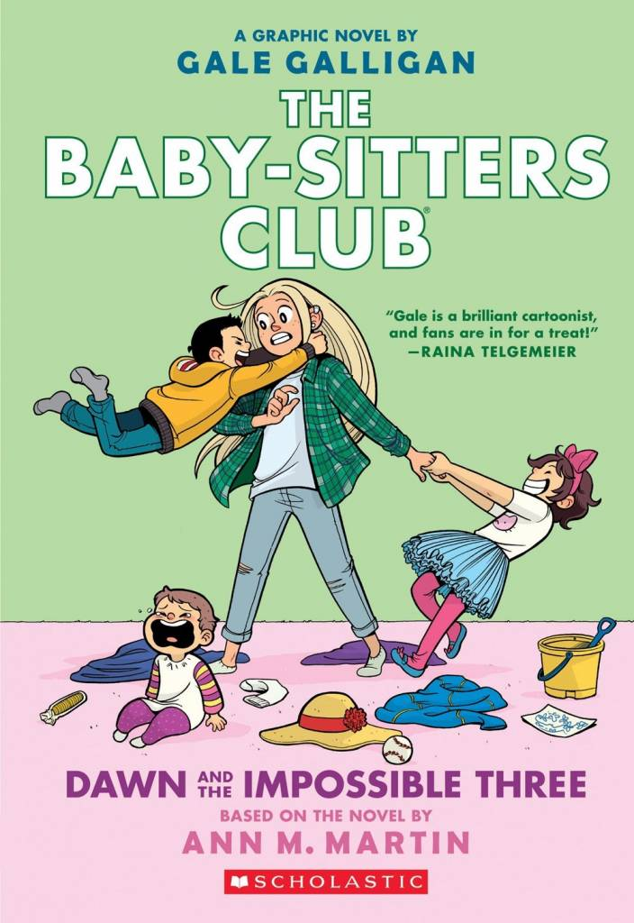 Graphix Baby-Sitters Club Graphix 05 Dawn and the... Three