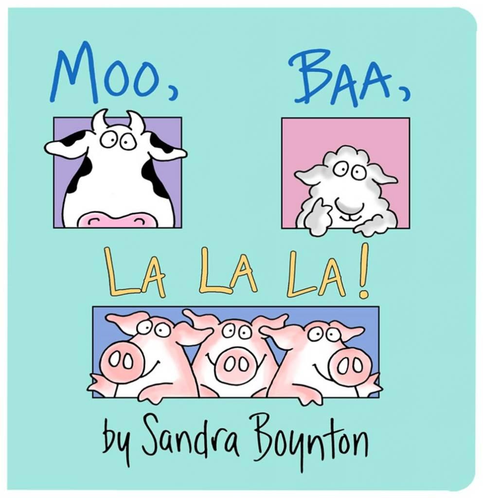 Little Simon Moo, Baa, La La La!