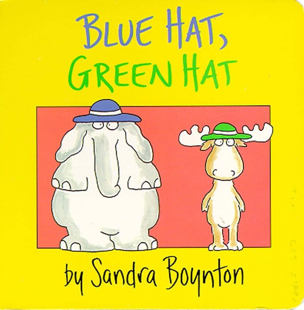 Little Simon Blue Hat, Green Hat