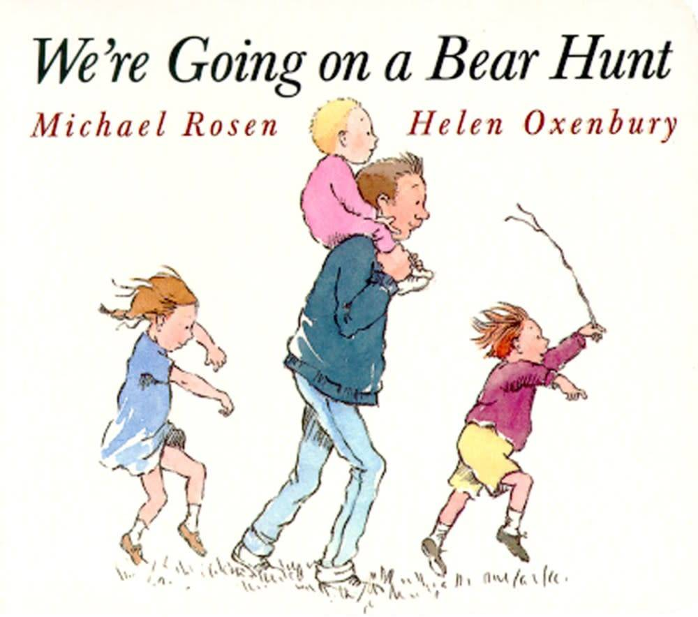 Little Simon We're Going on a Bear Hunt (Small Board Book)