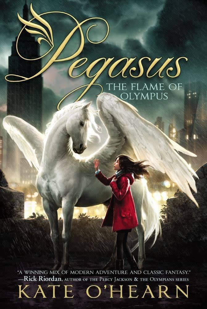 Pegasus 01 The Flame of Olympus