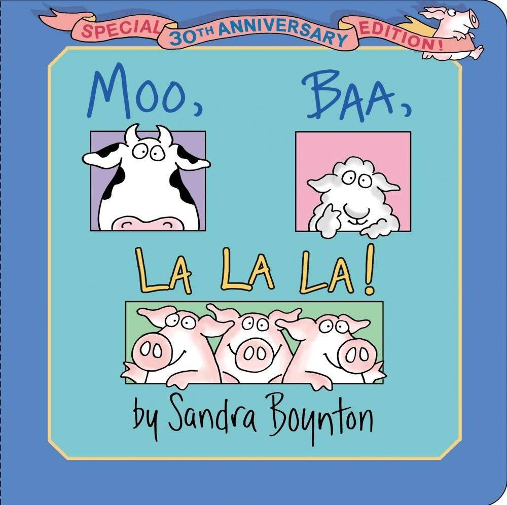 Little Simon Moo Baa, La La La! (Small 30th Anniversary Ed.)