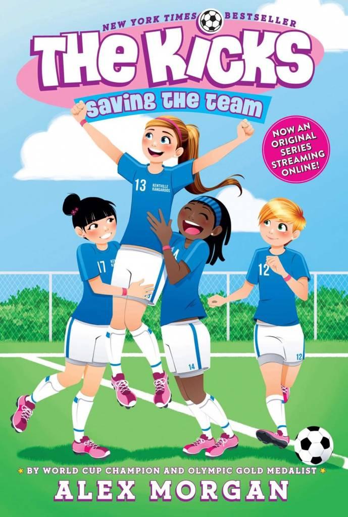 Simon & Schuster The Kicks 01 Saving the Team