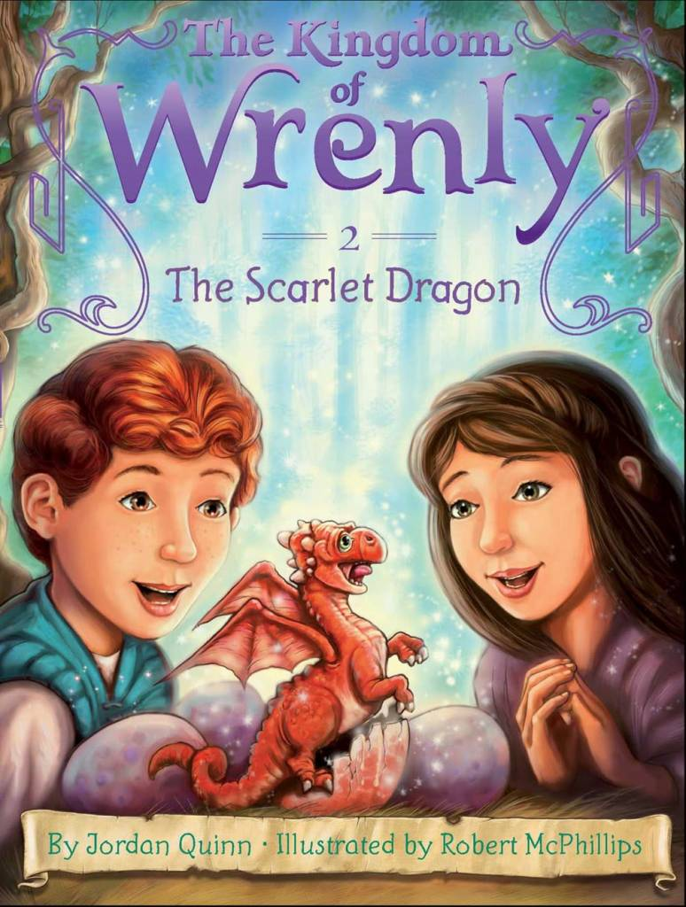 Kingdom of Wrenly 02 The Scarlet Dragon