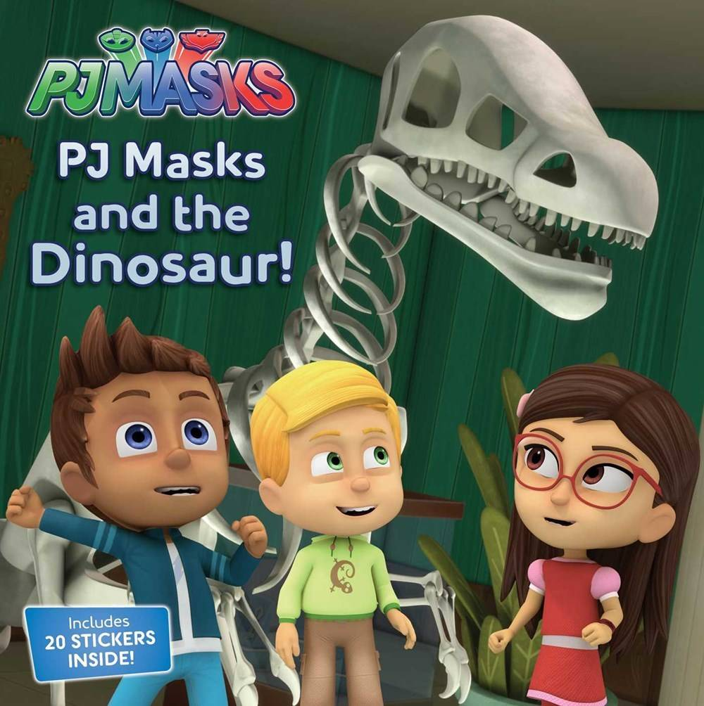 Simon Spotlight PJ Masks: And the Dinosaur!