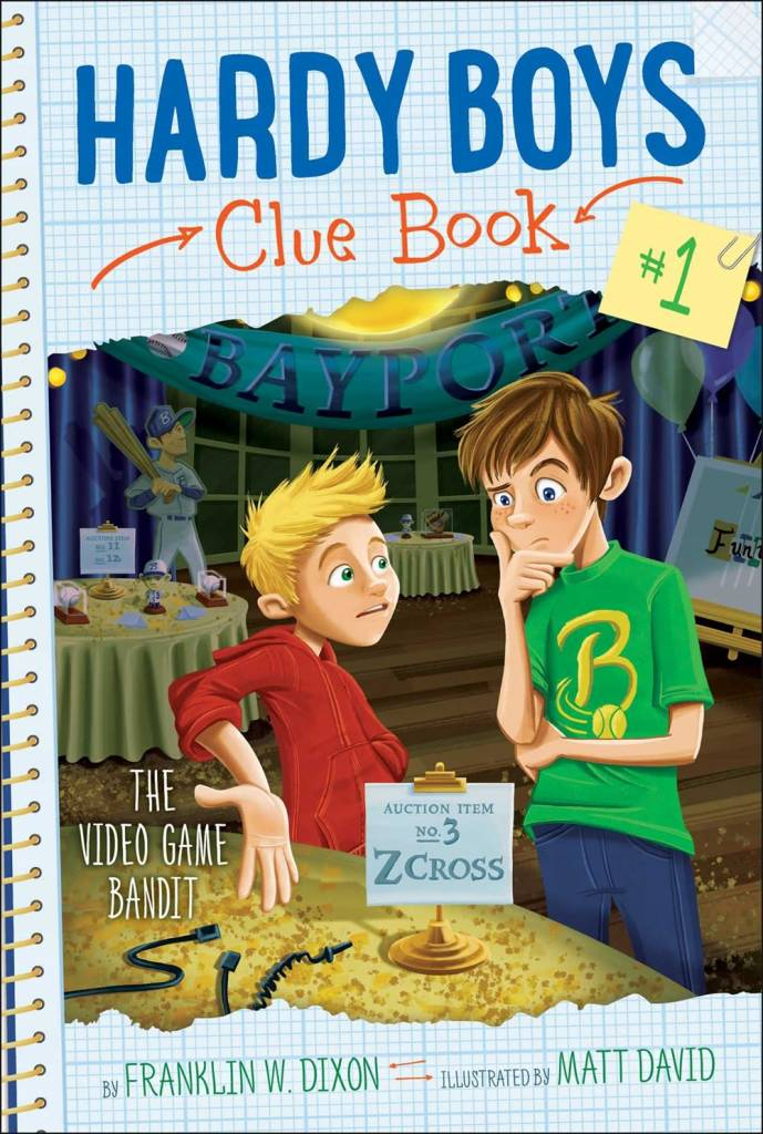 Aladdin Hardy Boys Clue Book 01 The Video Game Bandit