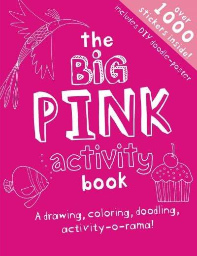 little bee books Big Pink Activity Book