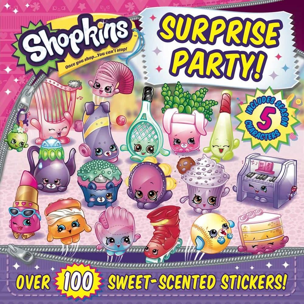 little bee books Shopkins: Surprise Party!