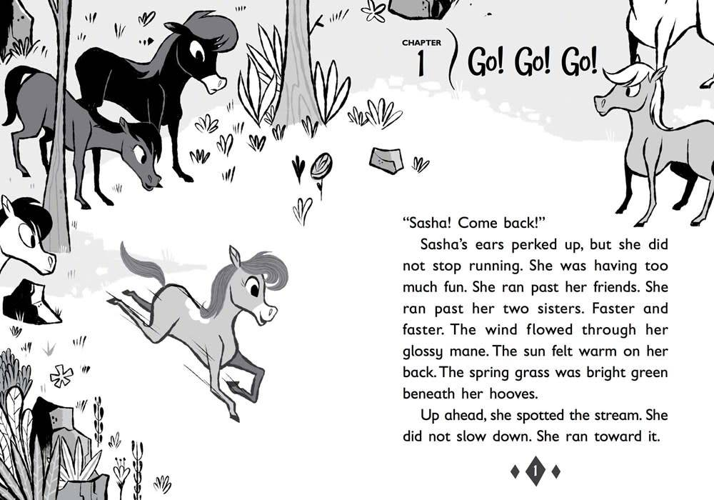 little bee books Tales of Sasha 01 The Big Secret