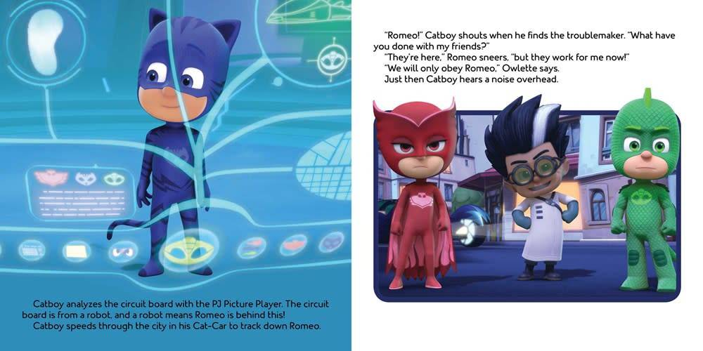 Simon Spotlight PJ Masks: Into the Night to Save the Day!