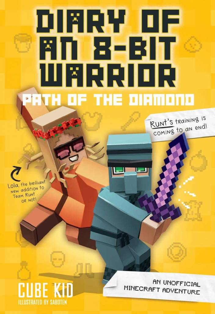 Andrews McMeel Publishing Minecraft: Diary of an 8-Bit Warrior 04 Path of the Diamond