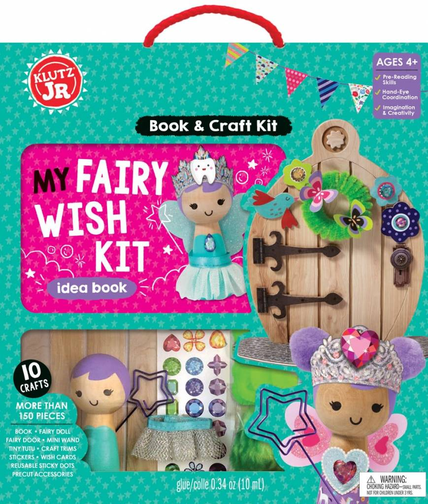 Klutz Klutz Jr.: My Fairy Wish Kit Idea Book (and Craft Kit)