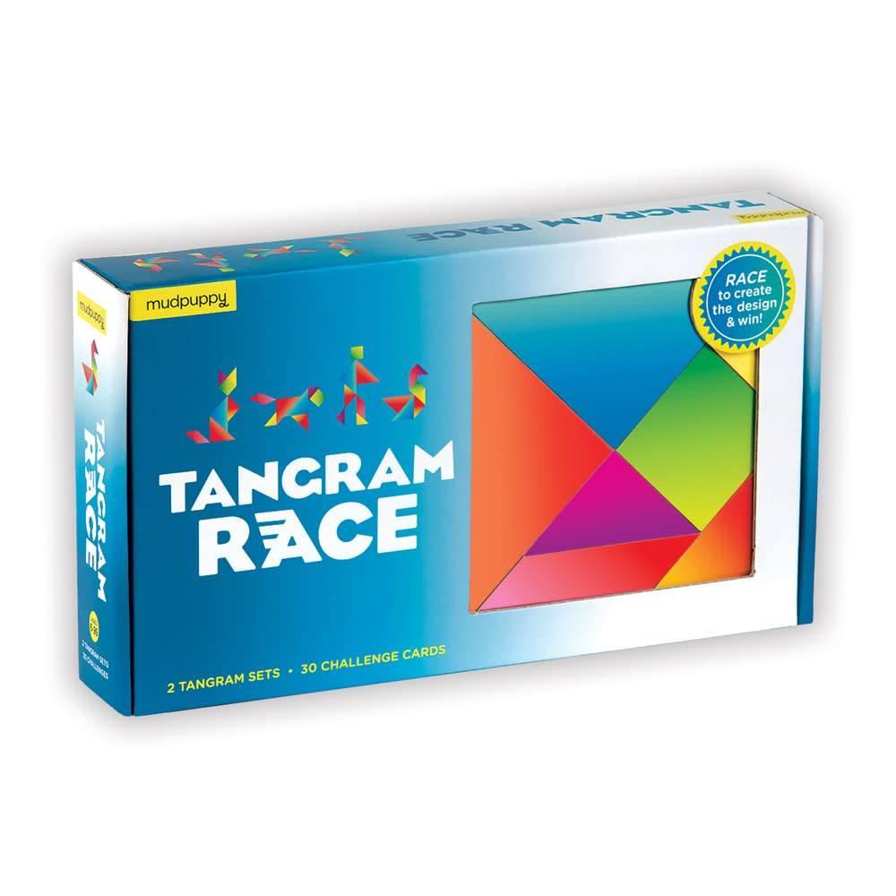 Mudpuppy Tangram Race