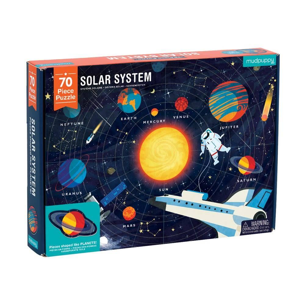 Mudpuppy Solar System Puzzle (70 Piece Jigsaw)
