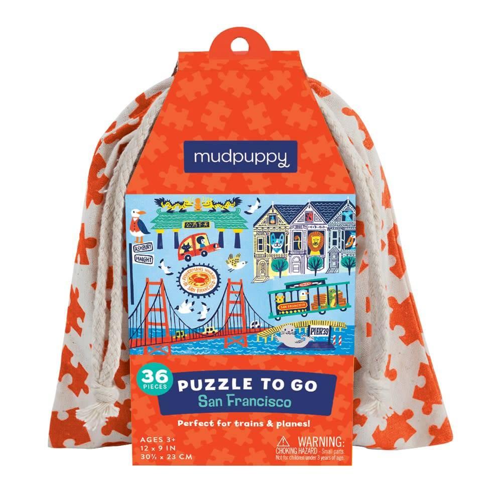 Mudpuppy Mudpuppy Puzzle to Go: San Francisco (36-Piece Jigsaw)