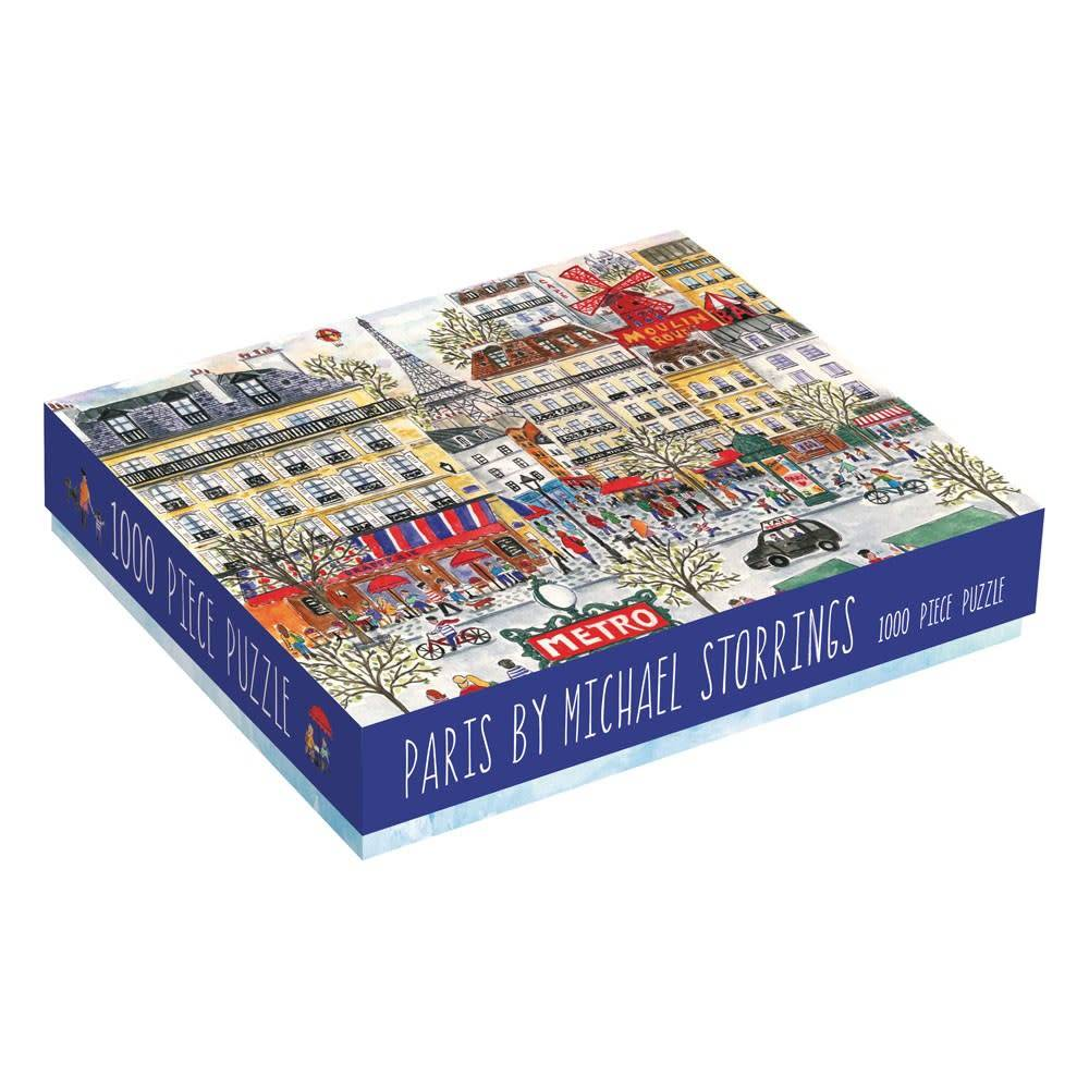 Galison Michael Storrings Paris Puzzle (1000 Piece Jigsaw)
