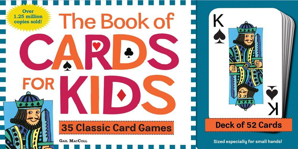 Book of Cards For Kids (Book and Deck of 52 Cards)