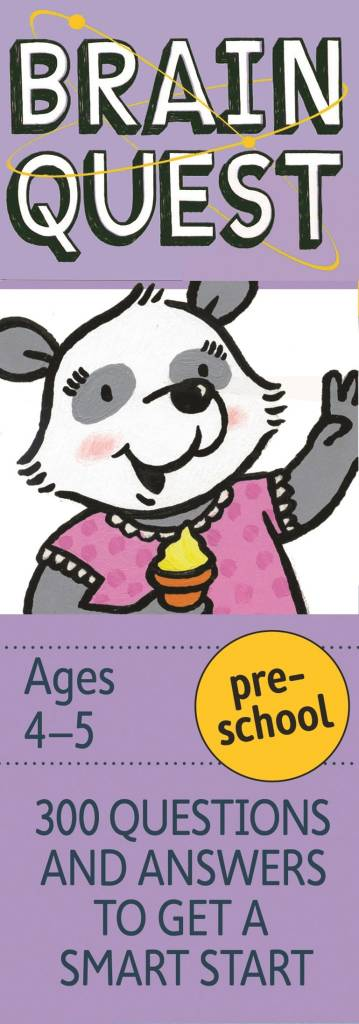 Workman Publishing Company Brain Quest Trivia Game: Preschool (Revised 4th Ed.)