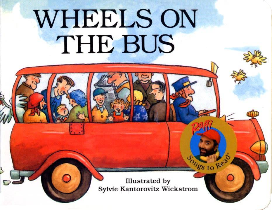 Raffi Songs to Read: Wheels on the Bus
