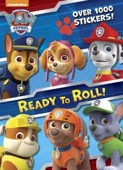 Paw Patrol: Ready to Roll (Sticker Activity Book)