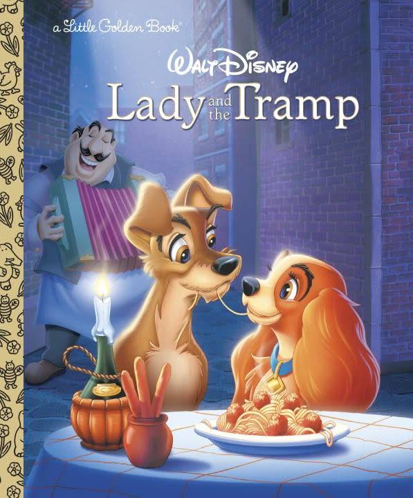 Disney: Lady and the Tramp (Little Golden Book)