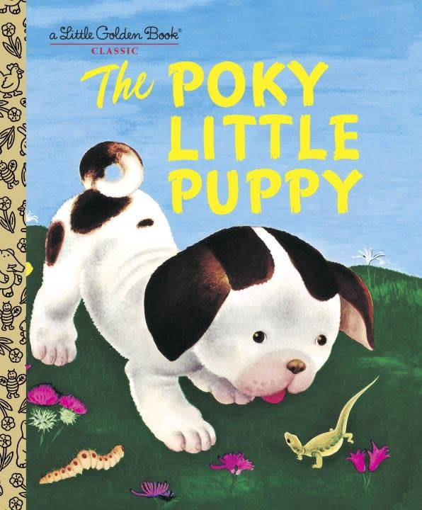 Golden Books The Poky Little Puppy