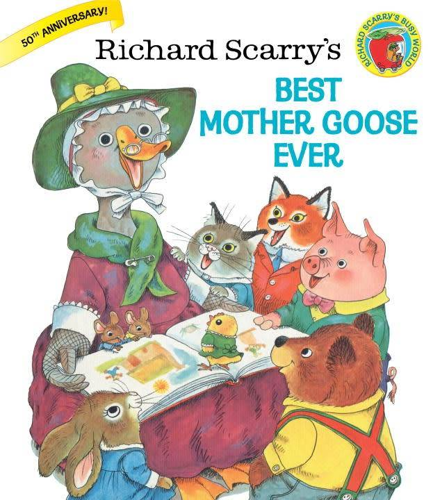 Golden Books Richard Scarry Best Mother Goose Ever