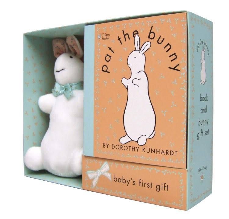 Golden Books Pat the Bunny (Book & Plush Bunny Set)