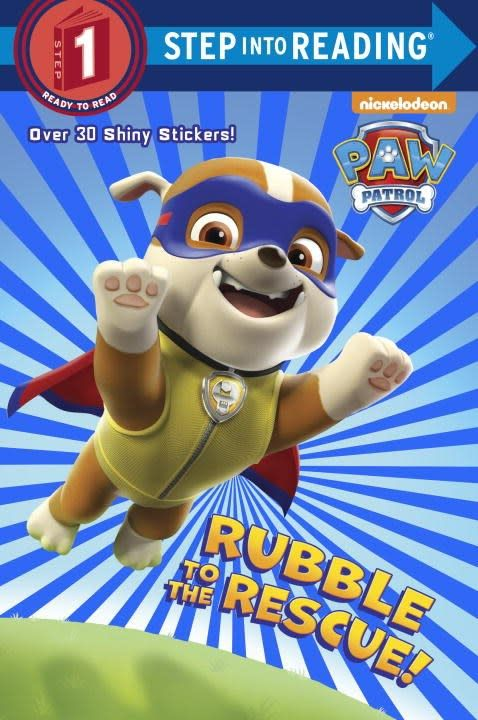 Random House Books for Young Readers Paw Patrol: Rubble to the Rescue (Step-into-Reading, Lvl 1)