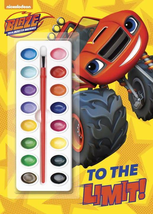 Blaze: To the Limit (Paint Box Book)