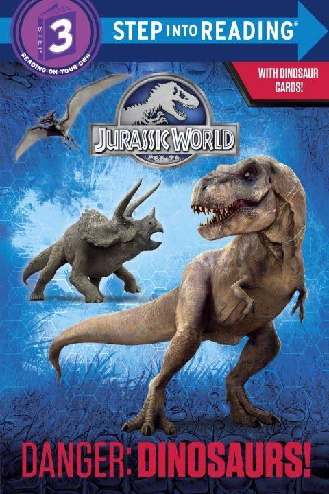 Random House Books for Young Readers Jurassic World: Danger: Dinosaurs! (Step-into-Reading, Lvl 3)