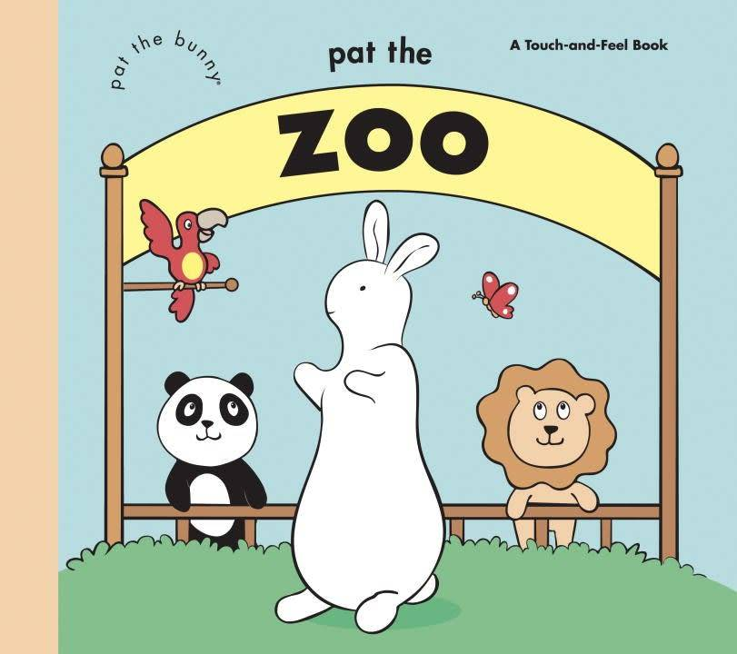 Golden Books Pat the Bunny: Pat the Zoo