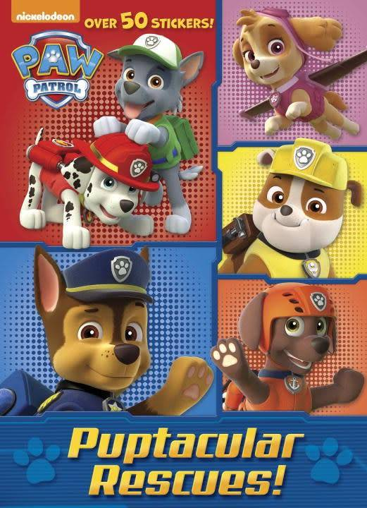 Golden Books Paw Patrol: Puptacular Rescue (Jumbo Coloring Book)