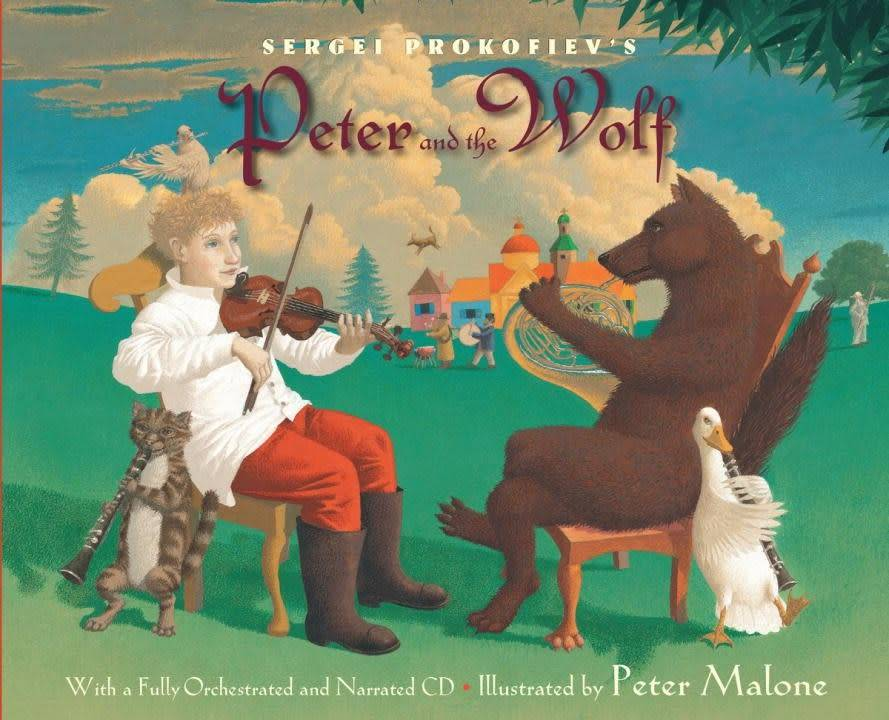 Knopf Books for Young Readers Peter and the Wolf (Book and CD)