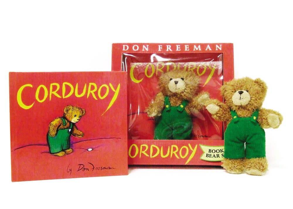 Corduroy Gift Set (Book & Plush)
