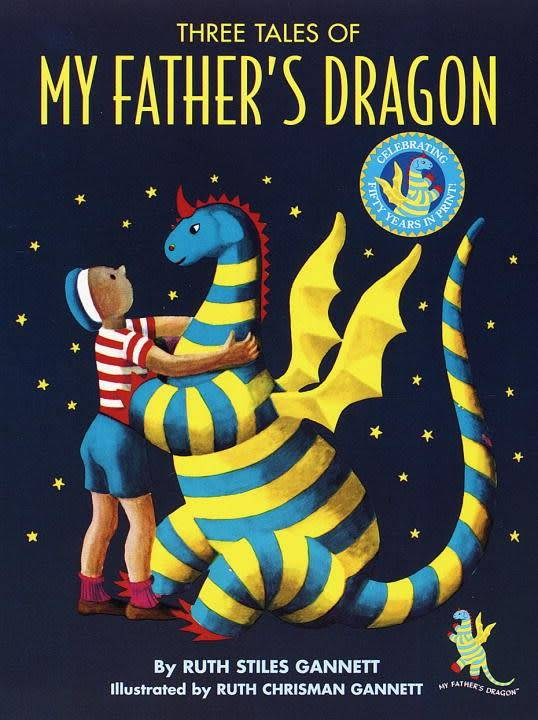 Random House Books for Young Readers My Father's Dragon Omnibus (#1-3) 50th Anniv.