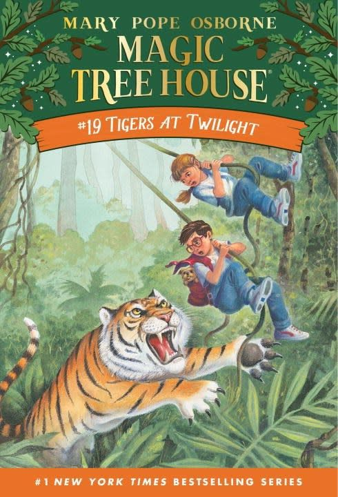 Random House Books for Young Readers Magic Tree House 19 Tigers at Twilight