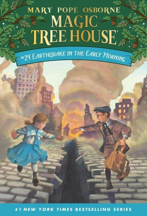Random House Books for Young Readers Magic Tree House 24 Earthquake in the Early Morning
