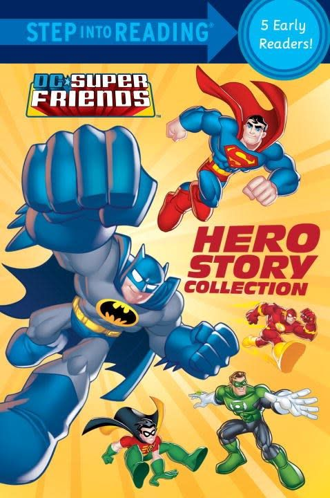 Random House Books for Young Readers DC Super Friends: Hero Story Collection (Step-into-Reading, 5-in-1)