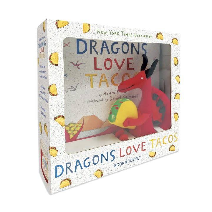 Dragons Love Tacos (Book & Plush Toy Set)