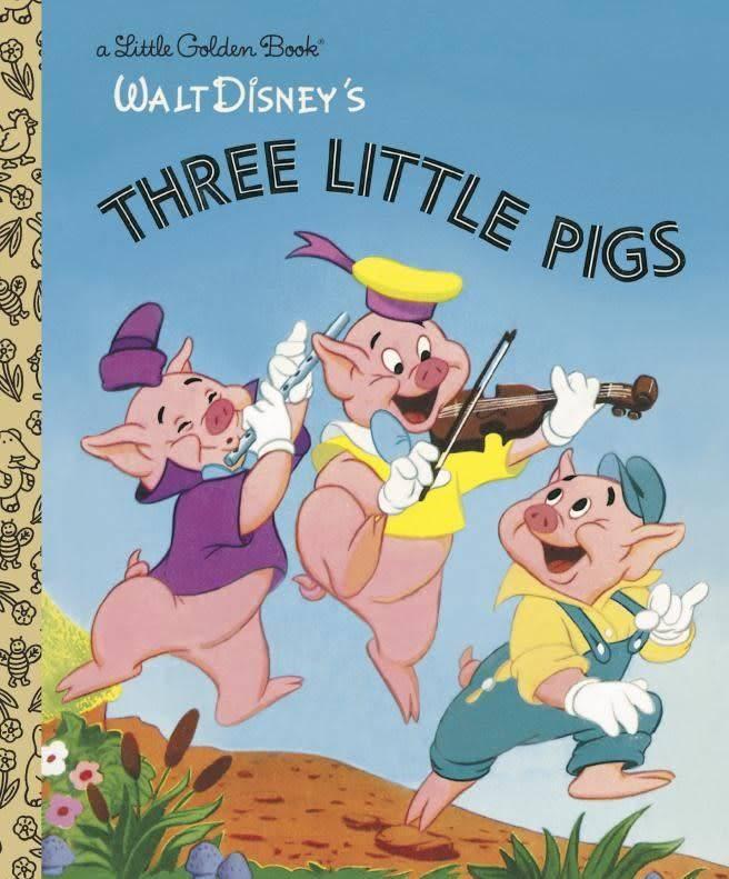 Golden Books Disney: Three Little Pigs (Little Golden Book)