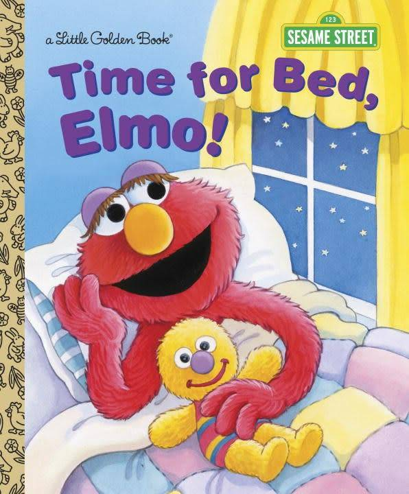 Golden Books Sesame Street: Time for Bed, Elmo!