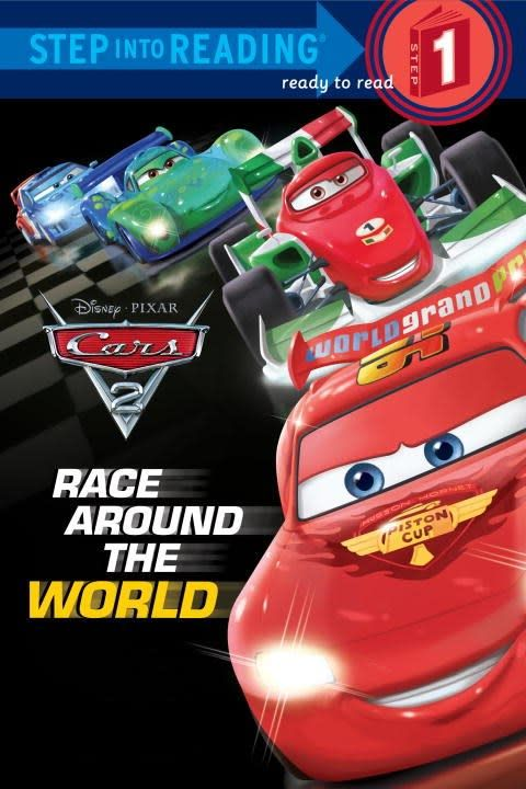Random House Books for Young Readers Pixar Cars 2: Race Around the World (Step-into-Reading, Lvl 1)