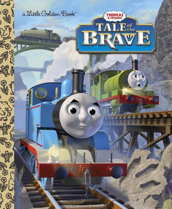 Golden Books Thomas & Friends: Tale of the Brave